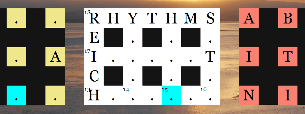 Blind Crossword 3D feature graphic
